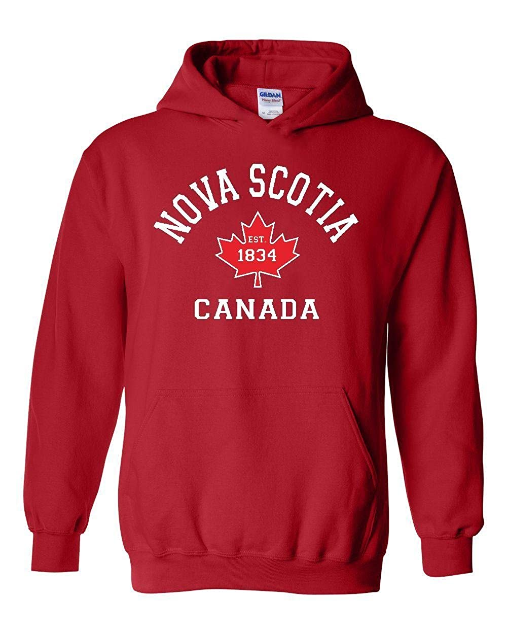 Nova Scotia Canada Maple Leaf Unisex Hoodies Sweater 18500_EO3419_L084017