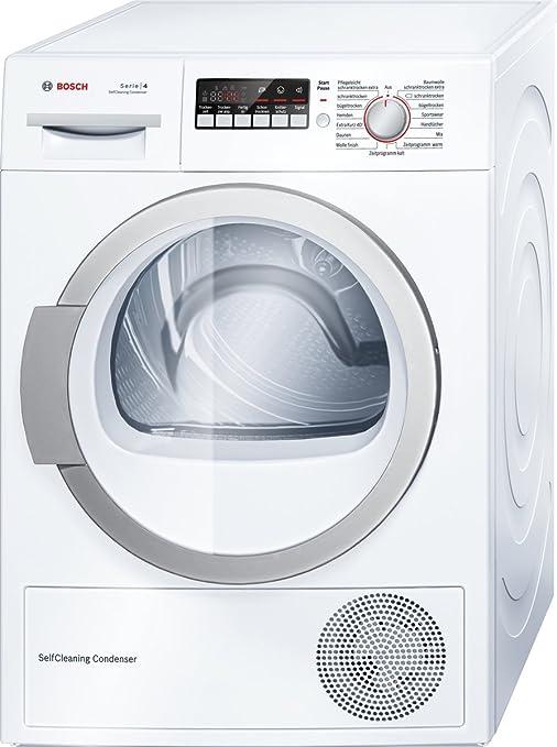 BOSCH bombas de calor de condensación secador WTW 86271 BOSCH TRWP WTW 86271-230398