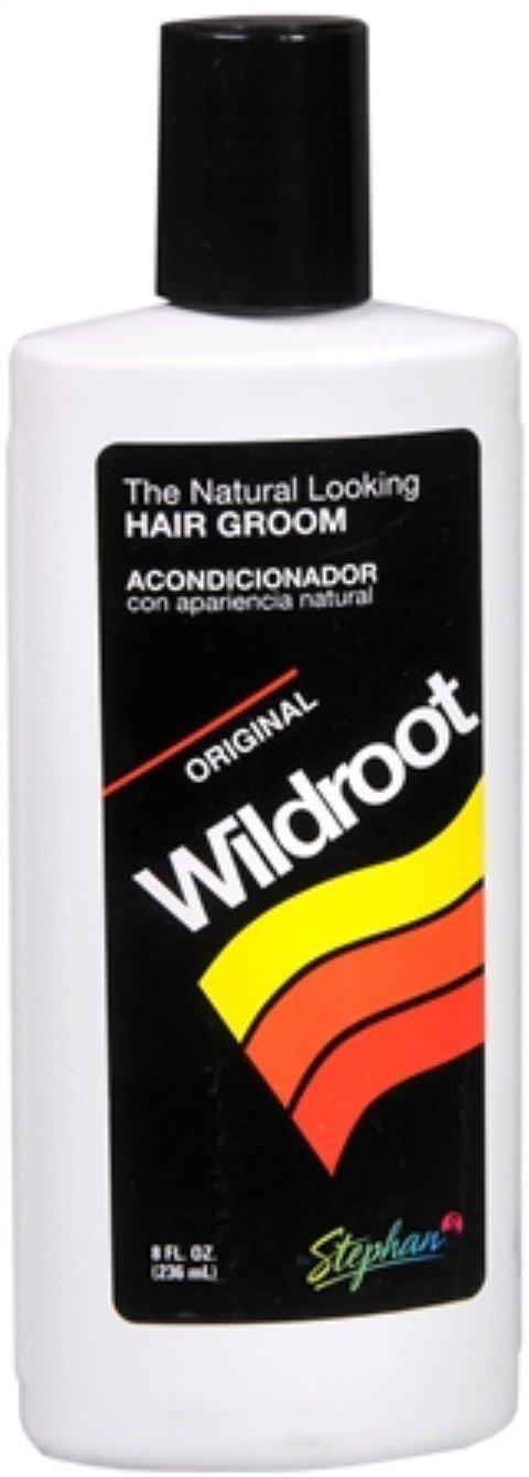 Wildroot Hair Groom Liquid 8 oz (Pack of 12)