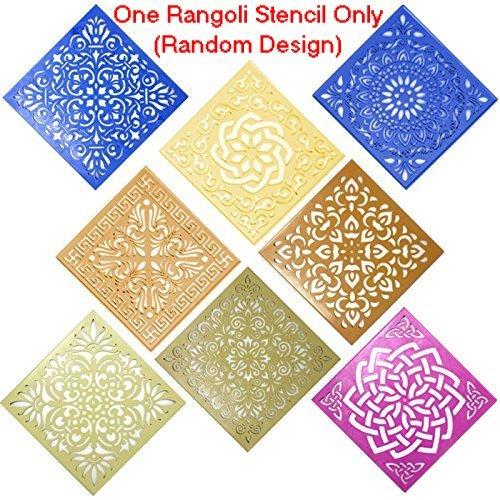 Stencil Flower (Classic Rangoli Stencil (Large 12