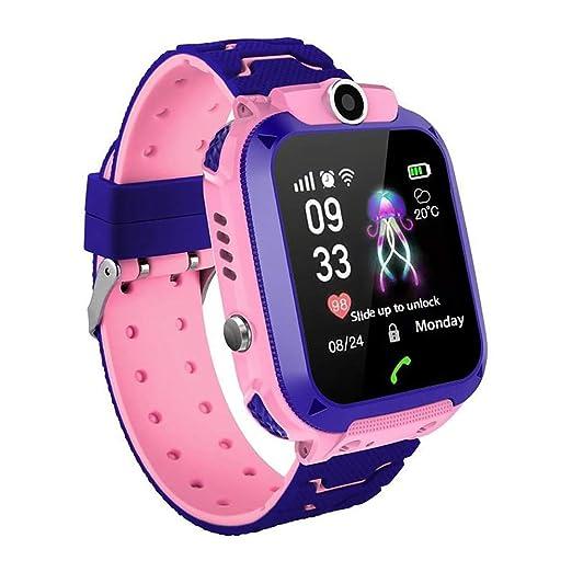 Doolland Reloj Inteligente Smartwatch para niños, rastreador de ...