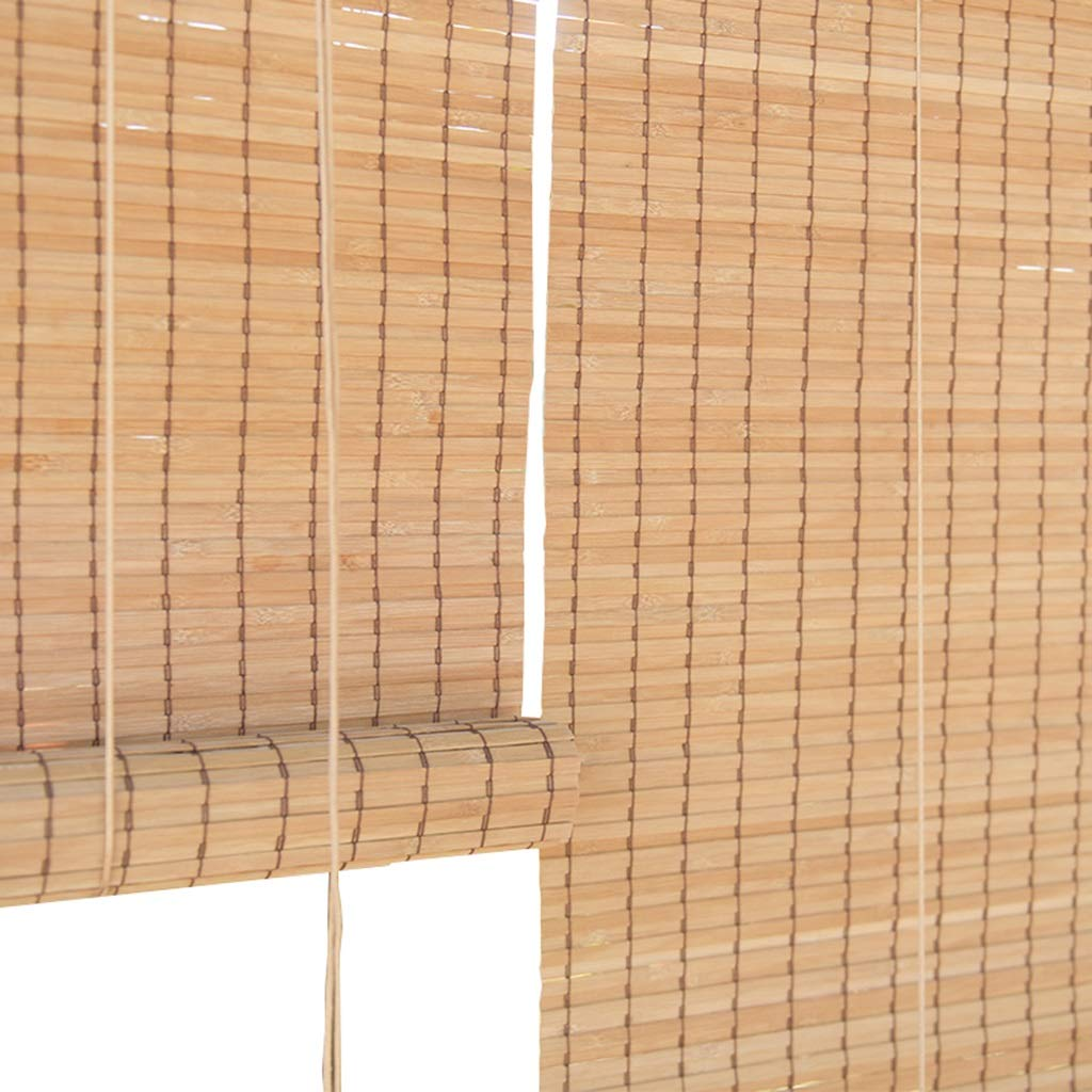 すだれ ロールスクリーン ローラーブラインド110cm / 120cm幅 - 庭/パティオ/ギャラリー/バルコニー日よけ、竹 (サイズ さいず : 120×180cm) 120×180cm  B07NHP6HK2