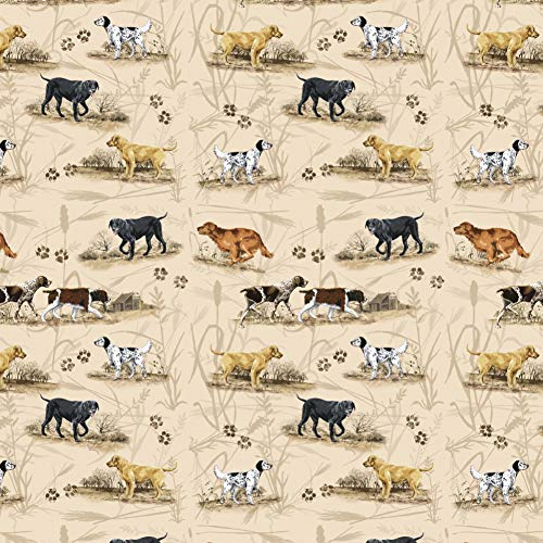 (Graphics and More Hunting Hunter Dog Breeds Lab Retriever Premium Roll Gift Wrap Wrapping Paper)