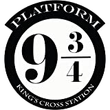 9 and 3//4 Decal Only Harry Potter Black Wheeler3Designs