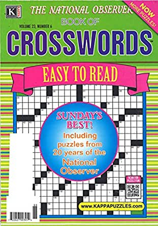National Observer Book of Crosswords