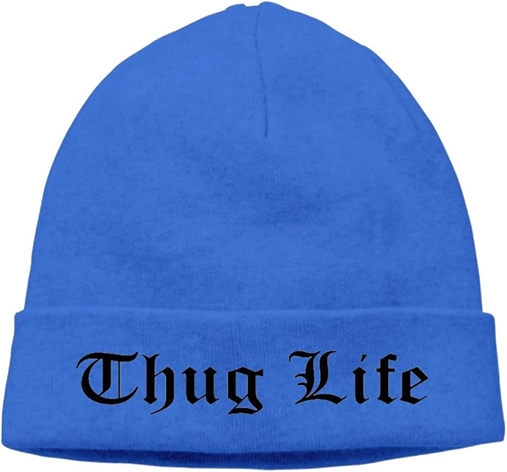 Raining Sunlight Unisex Cool Thug Life Text Graphic Casual Flexible Winter Hats//Ski Cap//Beanie//Skully Hat Cap