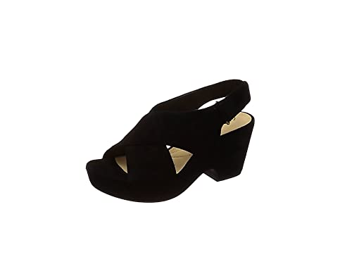 Ladies Clarks Stylish Slingback Wedge Heel Sandals Maritsa Lara