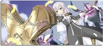 Alfombrilla de ratón Anime para Juegos, Collapse School 3 Sakura Cherry Mouse Pad Yin Yang División,