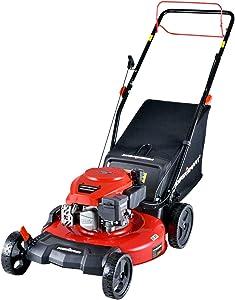 PowerSmart Lawn Mower, 21-inch & 170CC, Gas Powered Self-propelled Lawn Mower