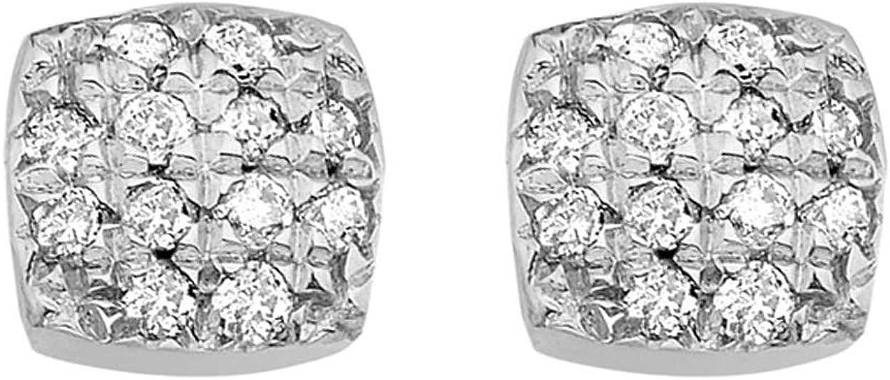 Carissima Gold Pendientes de mujer con oro de 9k, diamante