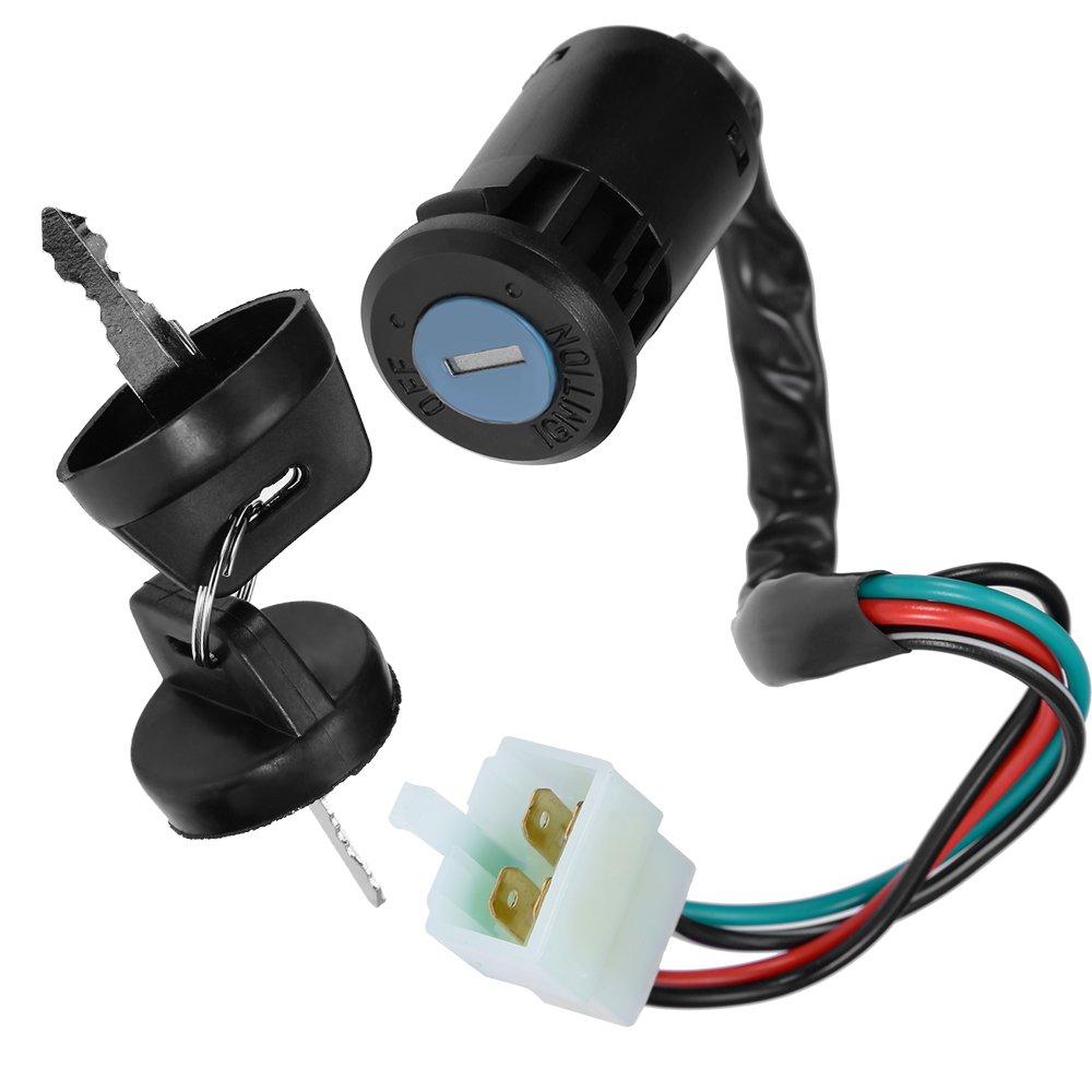 Key Ignition Switch For E-ton ATV All 2 /& 4 stroke 40 50 70 90 cc Eton 650720