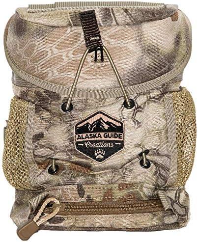 Alaska Guide Creations K.I.S.S. with M.A.X. Pocket 9 Color Options Binopack Binocular Harness