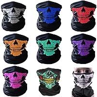 NA Unisex Sun UV Protection Face Mask Slipknot Windproof Scarf Neck Gaiter Breathable Bandana Balaclava for Sport/&Outdoor