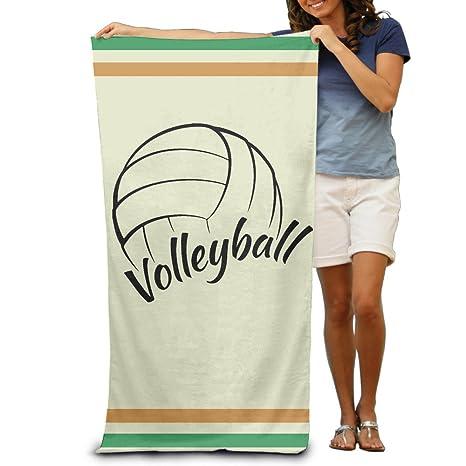 Amor Es adultos de voleibol de playa toallas de baño de 80 x 130 cm