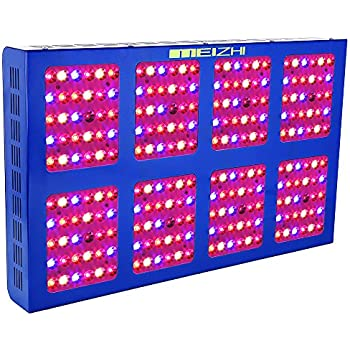 MEIZHI LED Grow Light Reflector Series 300W 450W 600W 900W 1200W Full Spectrum for Indoor Plants Veg and Flower Dual Switches (1200W)