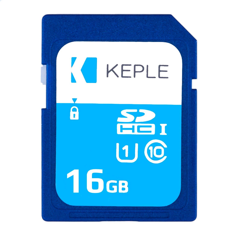 Tarjeta de Memoria SD de 64GB de Keple | Tarjeta SD de Velocidad Rápida para Nikon D810, D750, D5500, D810A, D7200, D610, DF DSLR Cámaras Digitales | ...