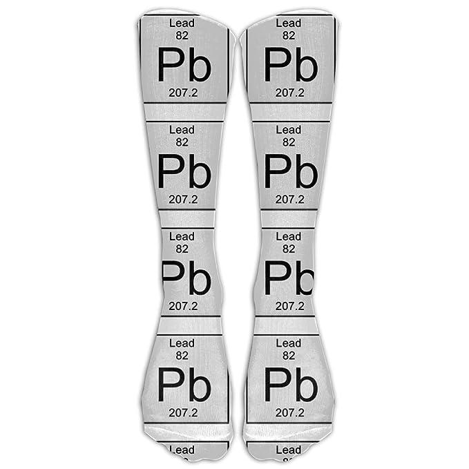 Amazon Sesy Socks Periodic Table Lead Chemical Element Design