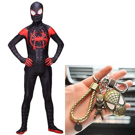 PIAOL Increíble Disfraz De Spiderman Disfraz Cosplay Niños Adulto ...