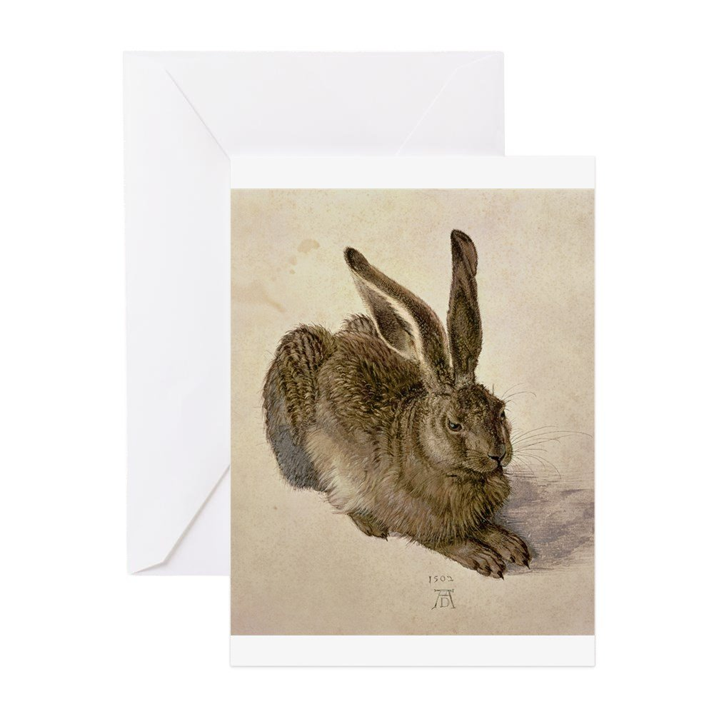 Birthday Card CafePress Hare By Albrecht Durer Greeting Cards Note Card Blank Inside Matte Greeting Card