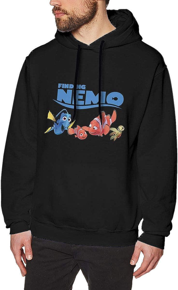 Cartoon Nimo Fish Men's Graphic Hoodie Hooded Sweatshirt