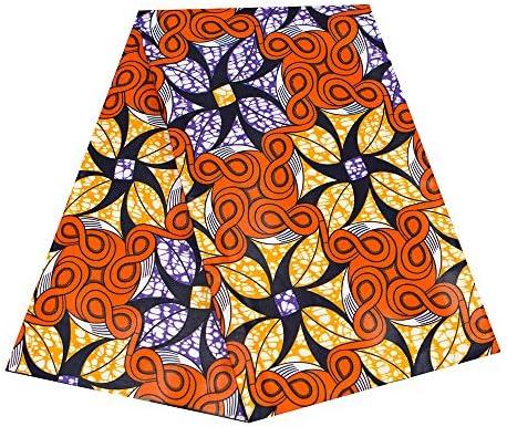 African Ankara Cotton Fabric Block Wax African Print Per Yard *36 by 45 inches*