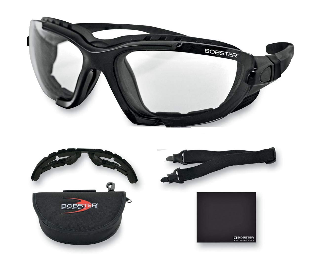 LUNETTES BOBSTER MOTO-SCOOTER-RENEGADE PHOTOCHROMIC-2610-0429 PRO