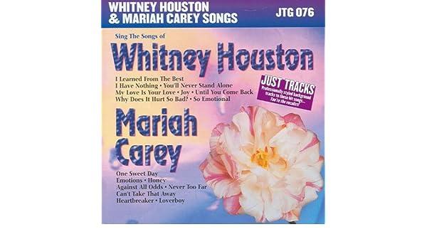 I have nothing instrumental lyrics and music by whitney houston.