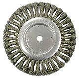 Weiler 36279 Vortec Pro Knot Wire Wheel, Standard Twist, 8'', 0.23'' Steel Fill, 5/8'' Arbor Hole (Pack of 2)