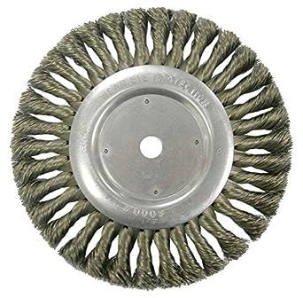 Round Hole Weiler Dualife Standard Wire Wheel Brush Steel Partial Twist 8