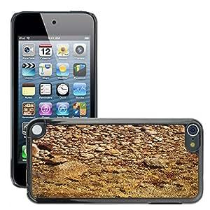 Etui Housse Coque de Protection Cover Rigide pour // M00150504 El río de grava Agua // Apple ipod Touch 5 5G 5th
