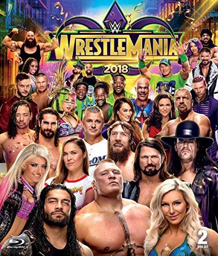 WWE: WrestleMania 34 (BD) [Blu-ray] (Induction Triple)