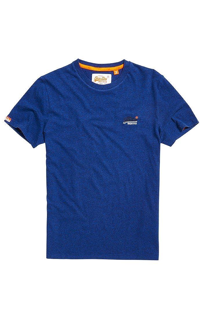 7efa3c79 Amazon.com: Superdry Men's Orange Label Vintage Emb Short Sleeve T-Shirt:  Clothing