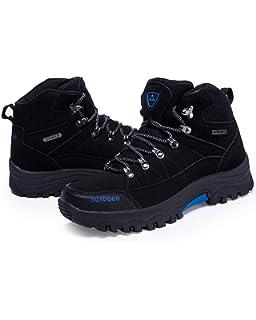Working Trekking Non-Slip Walking Boots for All Season Walking Backpacking Travelling Camping Climbing Men Hiking Boots Outdoor Trekking Shoes Biking