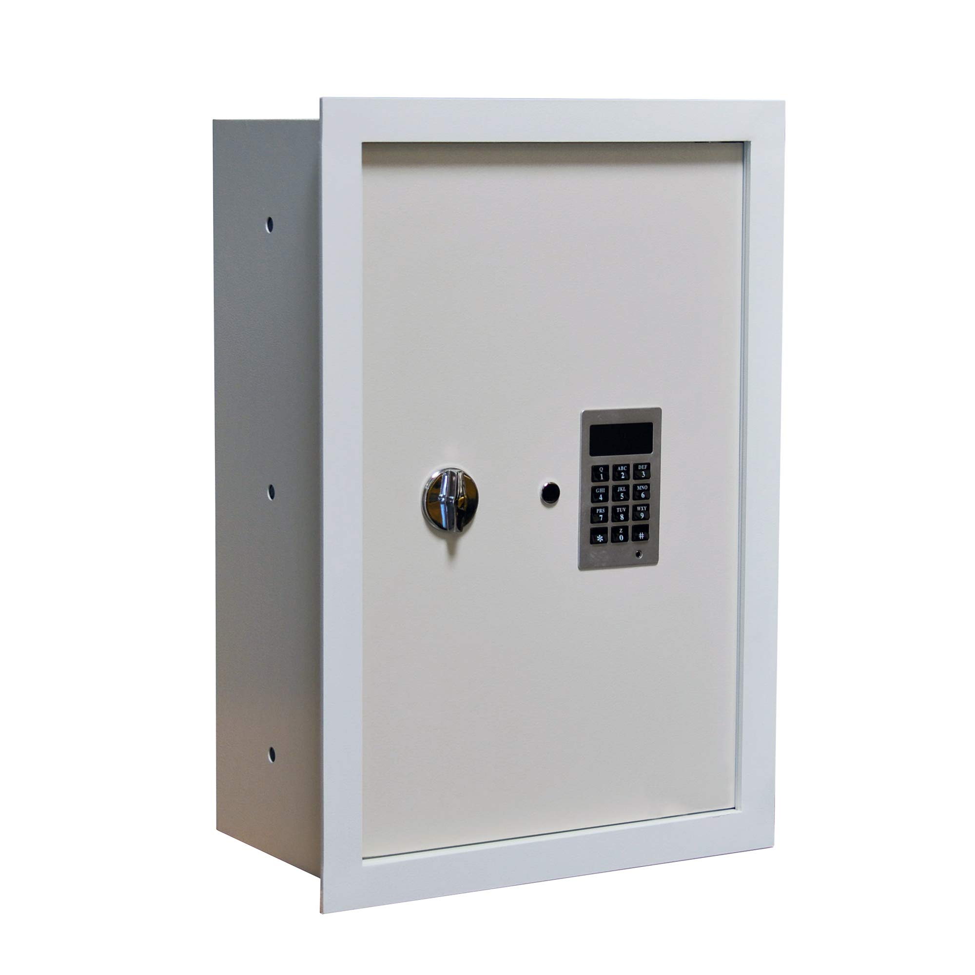 Mamba Vault Fire Resistant Wall Safe 8'' Deep with Easy to Program Electronic Digital Lock by Mamba Vault