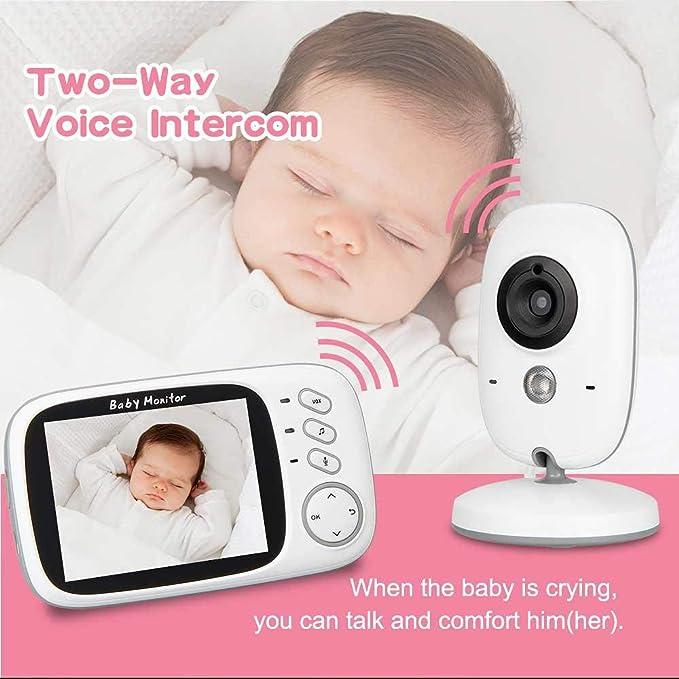 Video Baby Monitor, leegoal Wireless 3.2