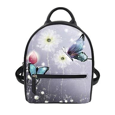 d7e5f43ec44 FOR U DESIGNS Mini PU Leather Women Backpacks School Bag Children Casual  Daypack