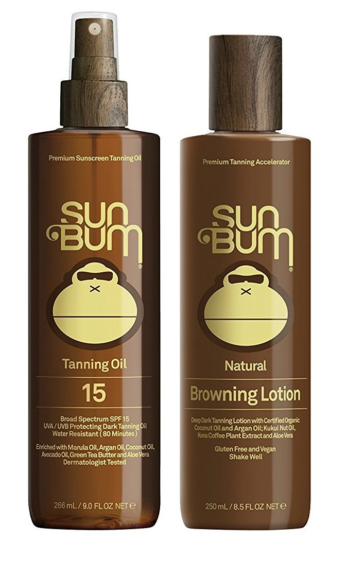 Sun Bum Tanning (Tanning Oil and Tanning Lotion) by Sun Bum
