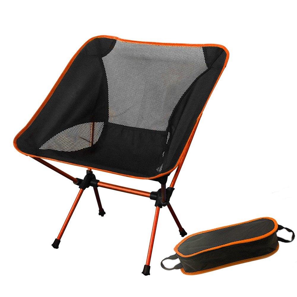 Love Beweglicher Im Freien Faltender Fischenstuhl/Ultra-Leichter Moon Chair/Aluminiumstrandstuhl/Grillender Faltender Schemel