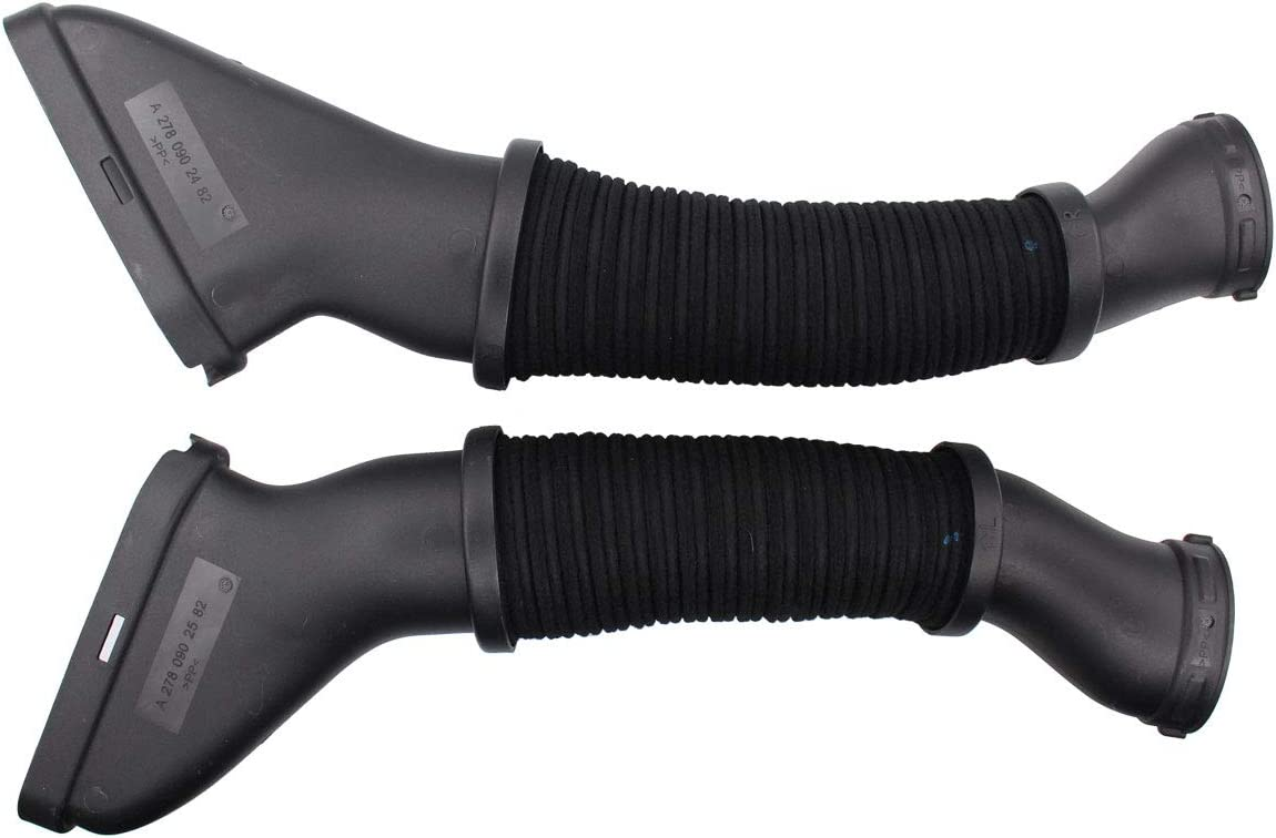 NewYall Pack of 2 Left Driver & Right Passenger Side Air Cleaner Intake Duct Tube Hose Kit