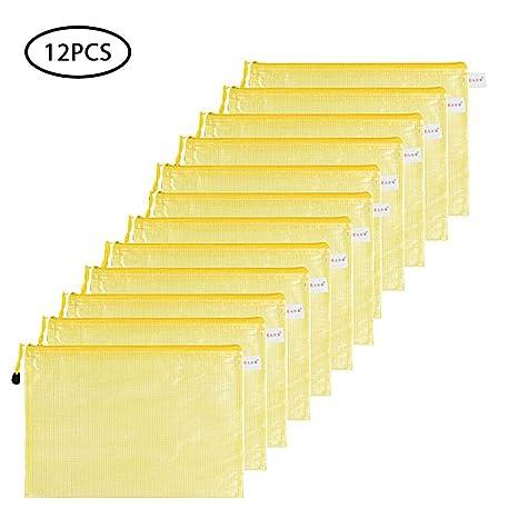 Amazon.com: Bolsas para archivar con cremallera tamaño A4 ...