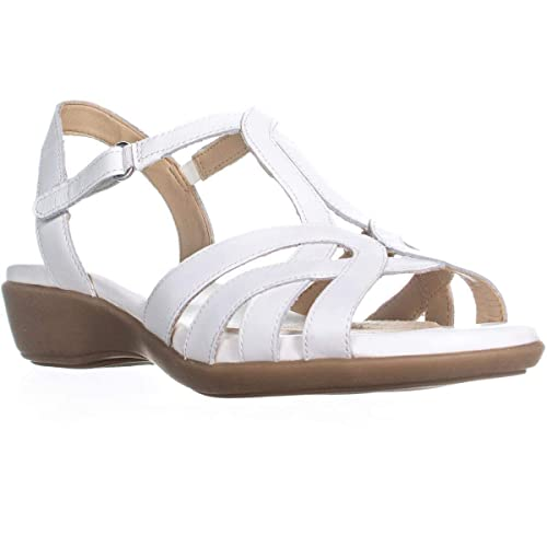 284c859879b8 Image Unavailable. Image not available for. Color  naturalizer Nella Ankle  Strap Sandals ...