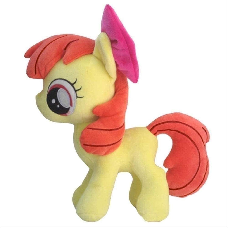 Enjoyyouselves Plush Toys My Little Pony Cute Stuffed Toy Doll Soft Princess Luna Celestia Queen Chrysalis Anime Toy 30cm Apple Bloom