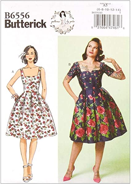Butterick B6453 PATTERN by Gertie Misses/' Dress 6-22 New