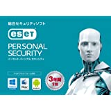 ESET パーソナル セキュリティ | 1台3年版 | カード版 | Win/Mac/Android対応