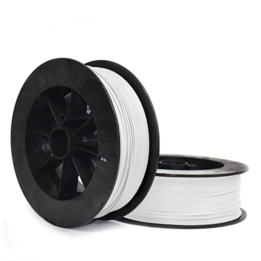 Snow White NinjaTek 3DNF00129005 NinjaTek NinjaFlex TPU Filament 3.00mm Pack of 1 TPE.5kg