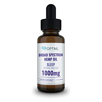 Amazon.com: OPTML Sleep, Broad Spectrum Hemp Oil Terpene ...