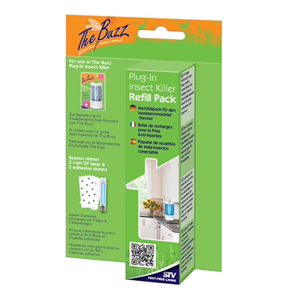STV International The Buzz Plug-In Insect Killer Refill Pack STV510