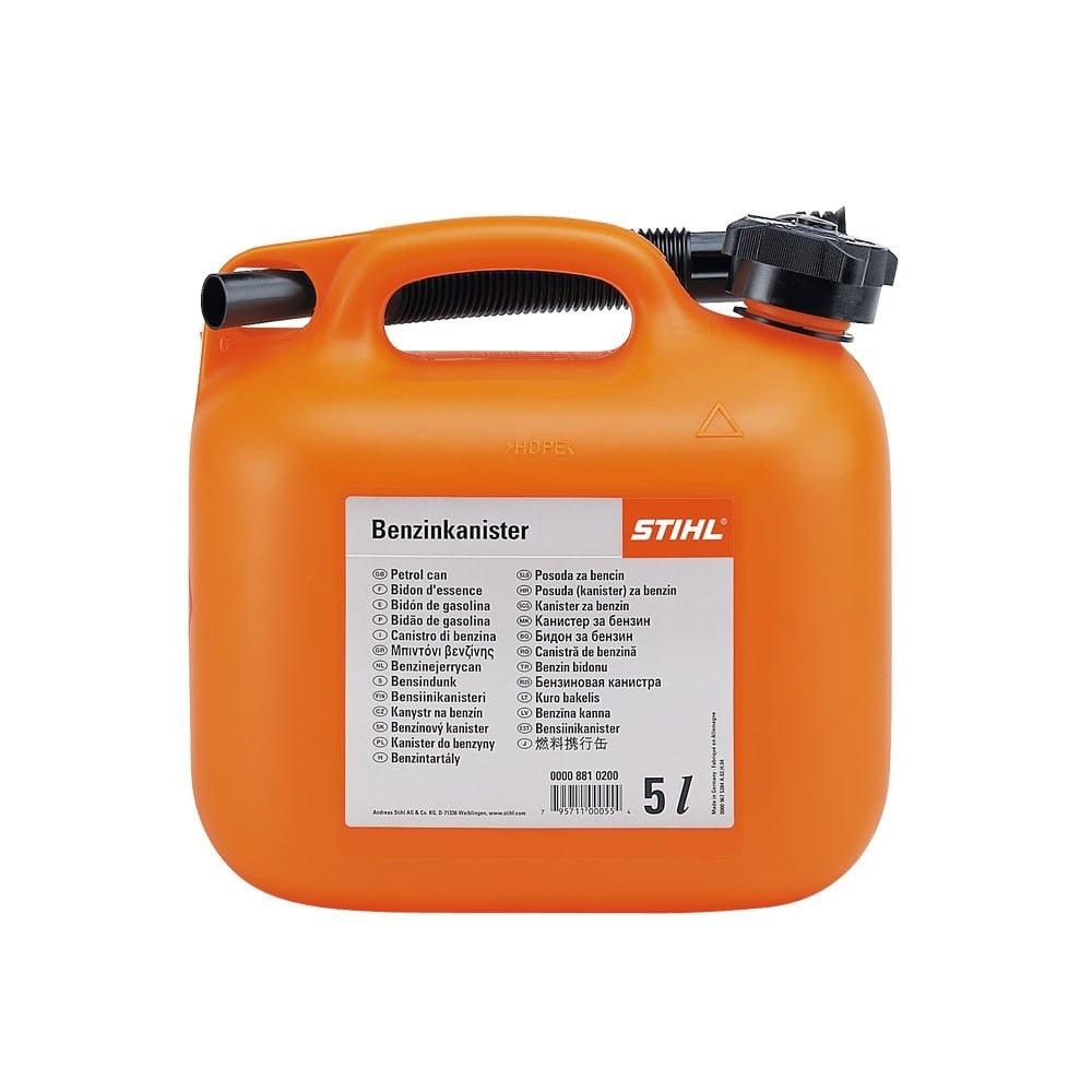 1760e5e0a17 Stihl Genuine 0000 881 0232 5L Fuel Can Transparent: Amazon.co.uk: DIY &  Tools