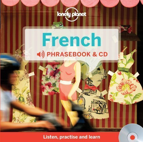 Lonely Planet French Phrasebook and Audio CD by Michael Janes, Jean-Pierre Masclef, Jean-Bernard Carillet (2012) Hardcover