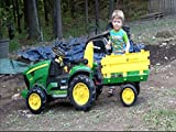 The Boy And His John Deere Tractor